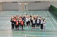 Netball sessions at Riverside Leisure Centre