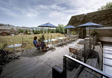 Terrace Cafe The Devon Guild of Craftsmen