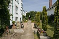 Topsham Museum garden & exterior