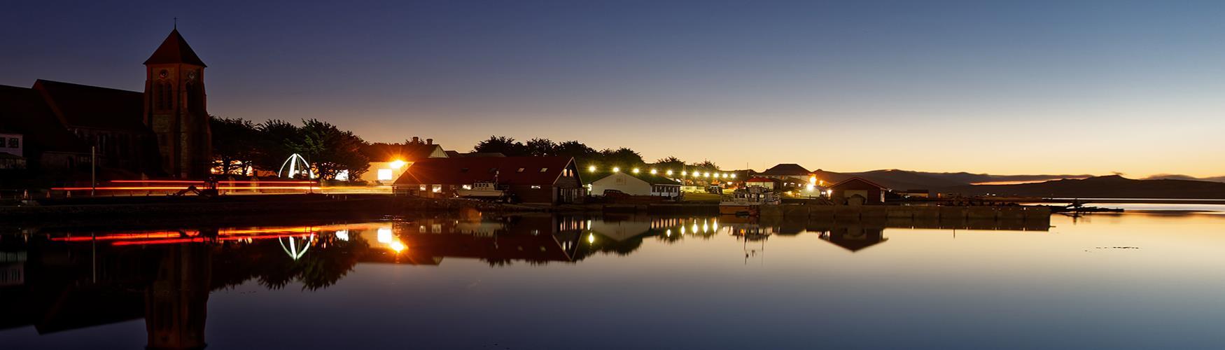 Stanley evening, Falkland Islands
