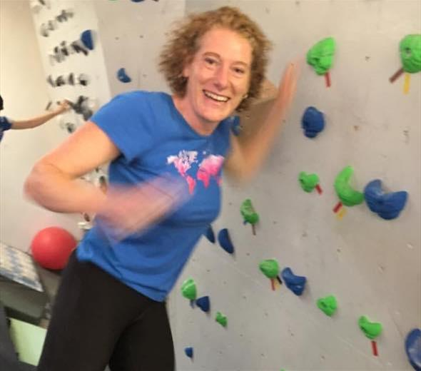   Sally Ellis - Passionate about running and climbing!
