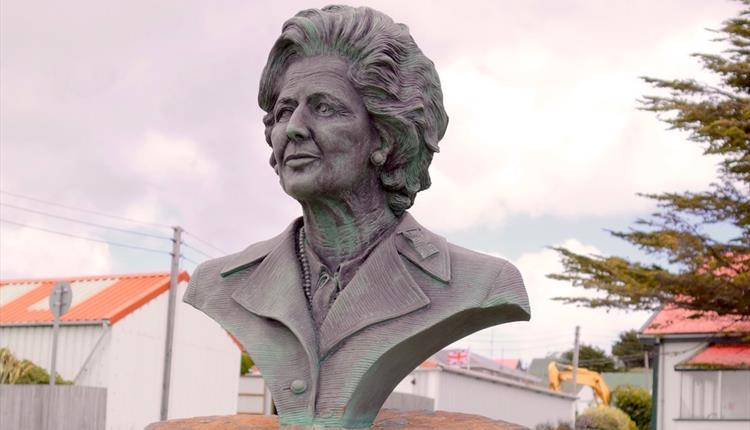 Margaret Thatcher Memorial Bust