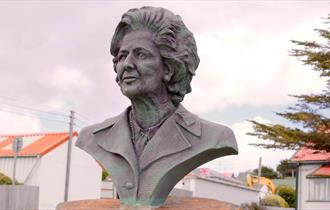 Margaret Thatcher Memorial Bust