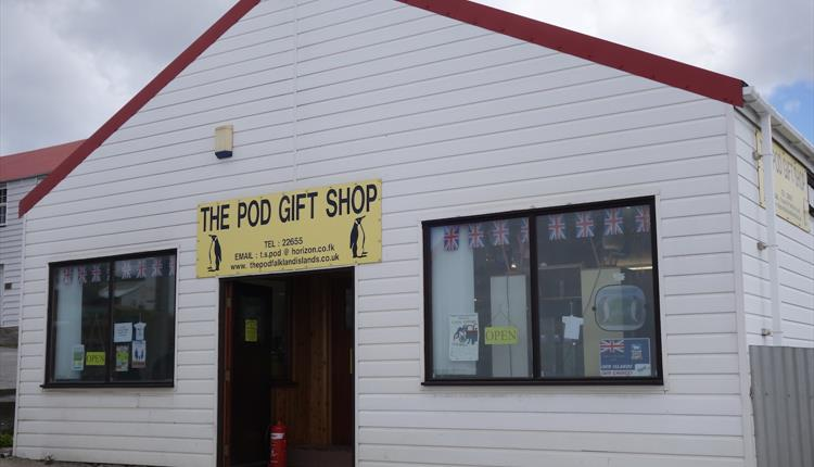 The Pod Gift Shop_Stanley_Falkland Islands