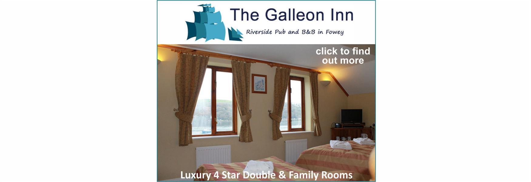 The Galleon Inn - Luxury 4 Star Double & Family Rooms - click to find out more