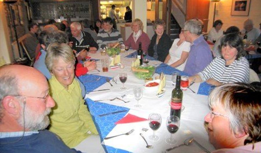 Denaro's at the Fowey Gallants Sailing Club