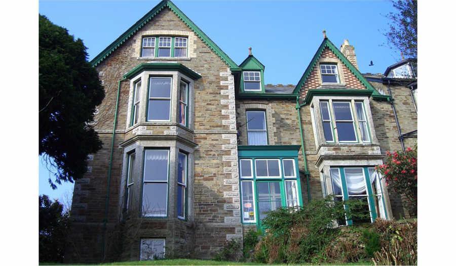 The impressive facade