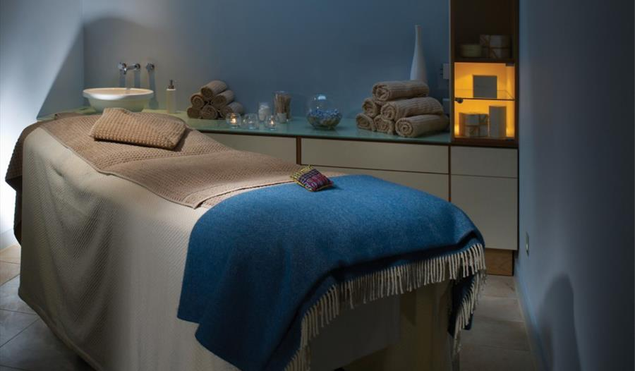 The Spa at the Fowey Hall Hotel