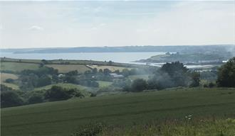 The campsite has spectacular views out to sea and across beautiful Cornish countryside