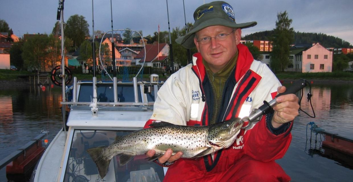 GJO - Gallery - Fishing - Fishing spots - Fjords and Lakes -  Dr Hook by Mjøsa