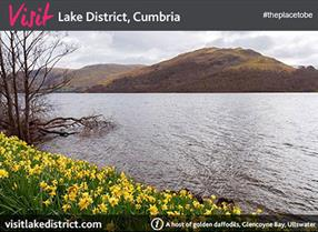 Sign up to receive our newsletter containing news and special offers from the Lake District, Cumbria.