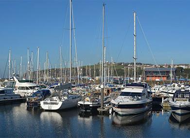 Seascale to Maryport - The Nordic Coast - Whitehaven Harbour