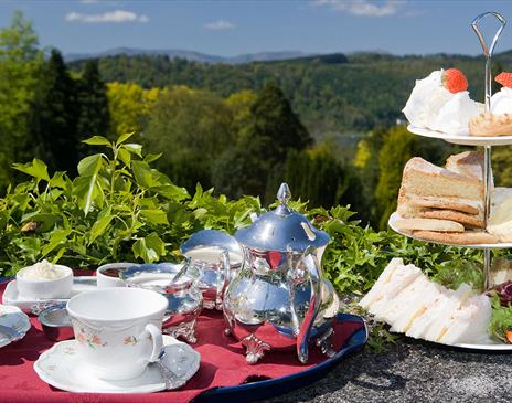 Afternoon Tea at Lindeth Fell Country House