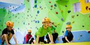 Fun at Lakeland Climbing Centre