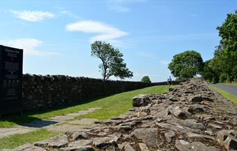 Banks East Turret; Hadrian's Wall
