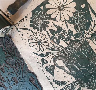 Still Life Themed Introduction to Lino Printing