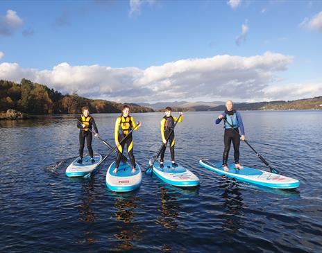 Paddleboard hire (1 hour) on Windermere with Graythwaite Adventure