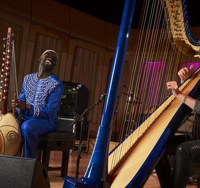 Ulverston International Music Festival 2021- Catrin Finch & Seckou Keita
