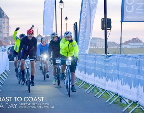 Coast to Coast in a Day Cycle Sportive