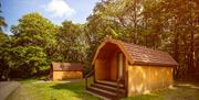 Camping Pods at Coniston Park Coppice