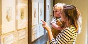 Visitors to the Beatrix Potter Gallery, Hawkshead