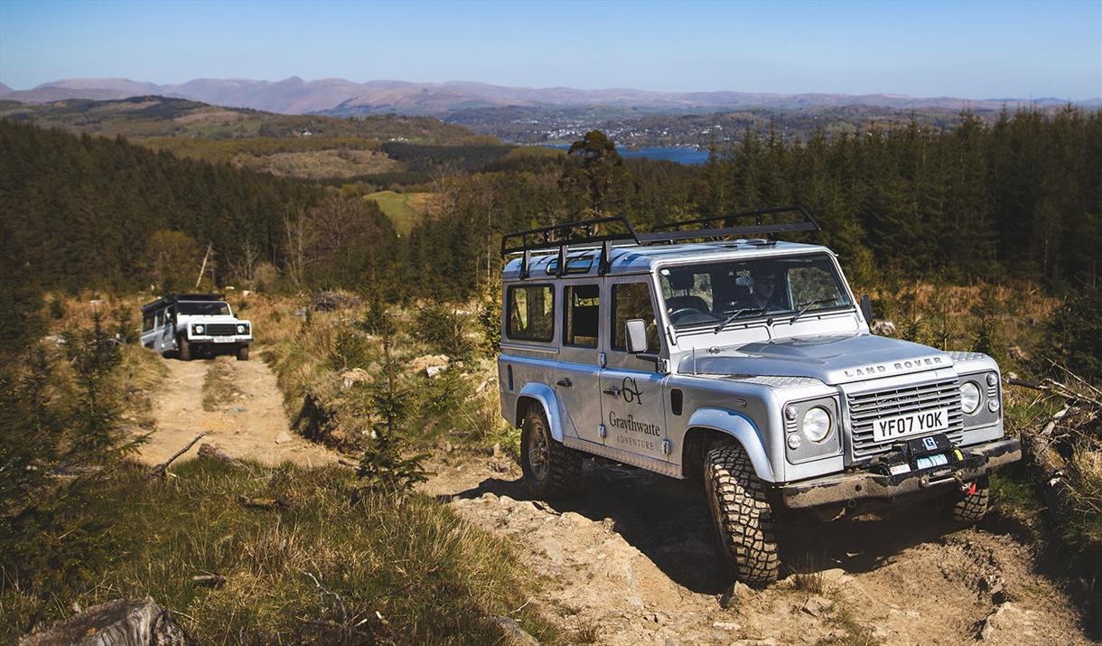 Graythwaite Adventure - 4x4 off road driving