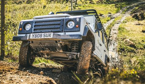 4x4 Off-Road Driving (1 hour), Land Rover Defender with Graythwaite Adventure