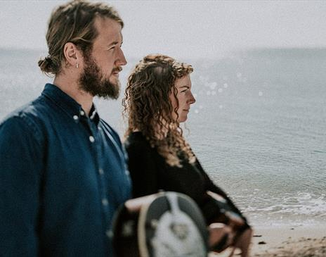 Harbottle and Jonas perform at Upstairs at the Gather on Friday 17th December 2021