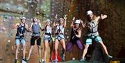 Great activities at Lakeland Climbing Centre