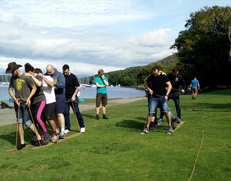 Mere Mountains - Team Building