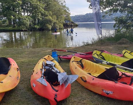 Kayak hire (1 hour) on Windermere with Graythwaite Adventure
