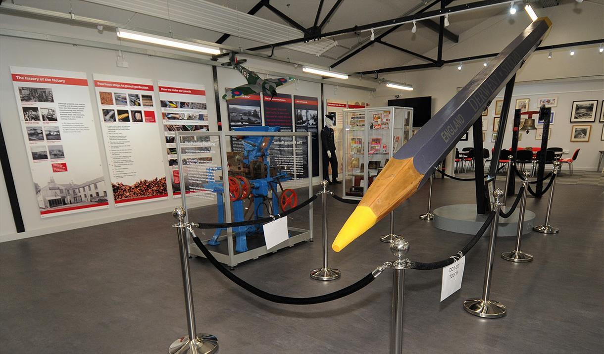 Derwent Retail Shop at The Pencil Museum