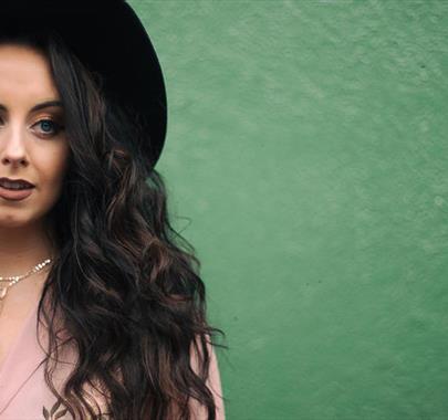 Emma Dockeray performs at Upstairs at the Gather on 12th November 2021