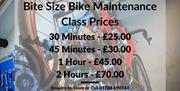 Bike Maintenance Class