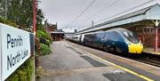 Avanti West Coast train in Penrith Station