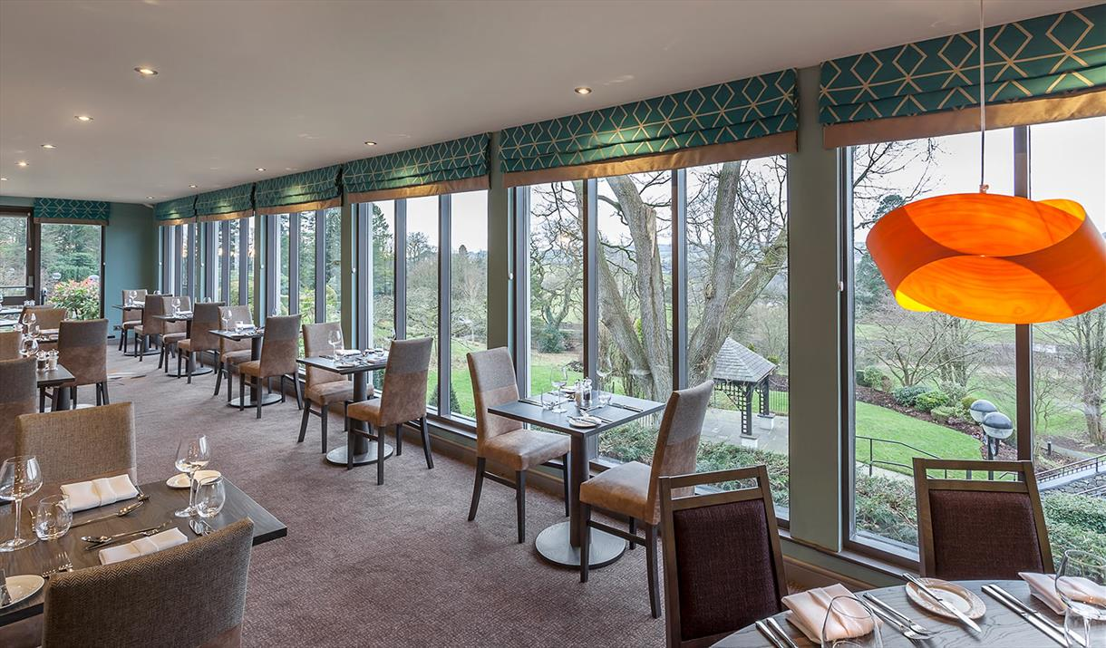 The Greenhouse Restaurant at Castle Green Hotel