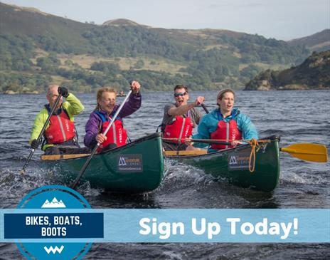 Bikes Boats Boots for Eden Valley Hospice and Jigsaw