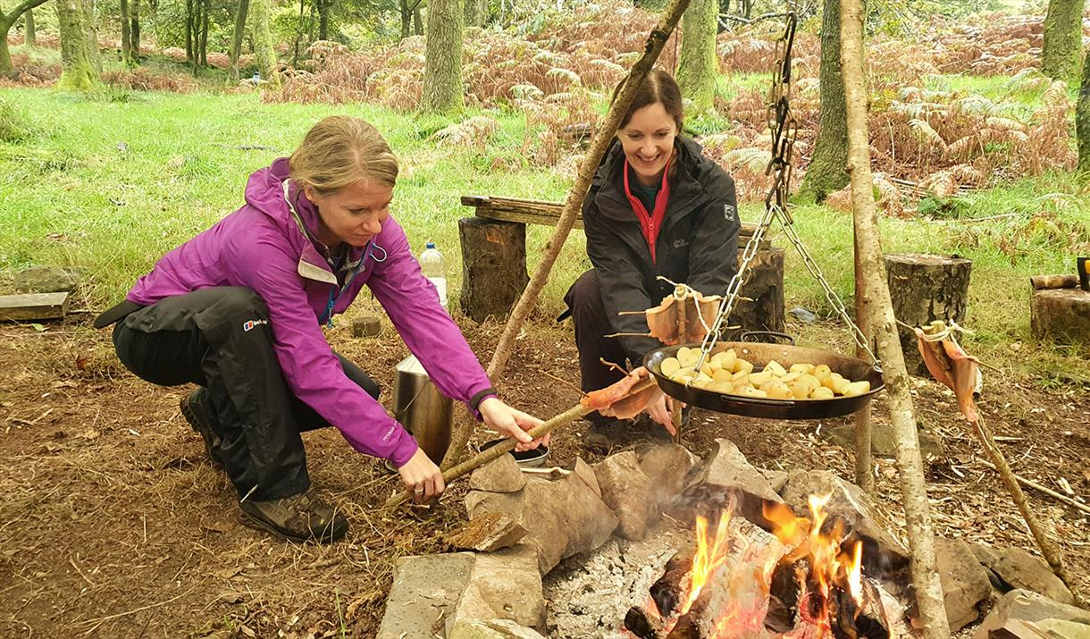 Bushcraft Cookery and Star Gazing with Path to Adventure