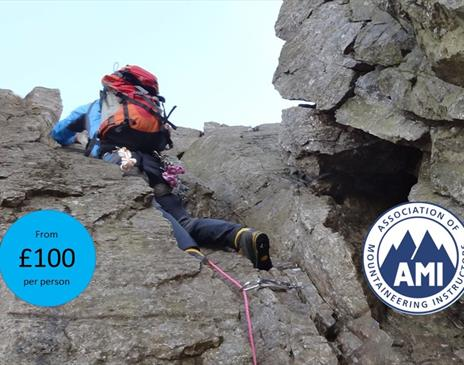 Scrambling Experience (grade 2 or 3) with The Lakes Mountaineer
