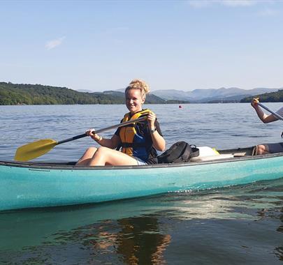 Canoe Hire with Graythwaite Adventure