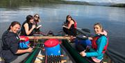 Mere Mountains - Canoeing