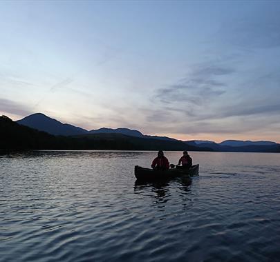 Dark Sky Canoeing with Path to Adventure