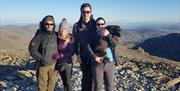 Dark Sky Mountain Walk with Path to Adventure