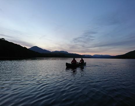 Dark Sky Canoeing