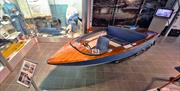 Donal Campbell's Jetstar Speedboat at The Ruskin Museum