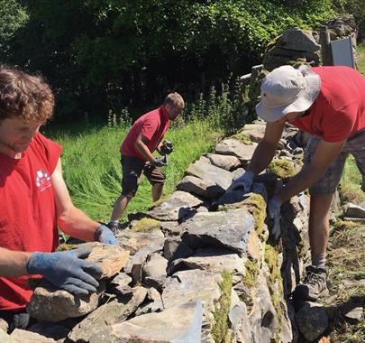 Dry Stone Walling Course at Cowshed Creative