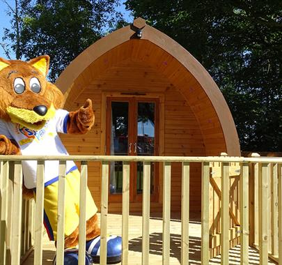 Stanwix Park Holiday Centre - Camping Pods