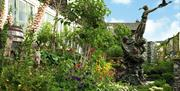 The Peter Rabbit Garden at The World of Beatrix Potter