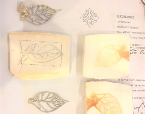 Casting in Pewter... jewellery and more with Ella McIntosh at Quirky Workshops