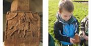 Epona and school visit - Senhouse Roman Museum